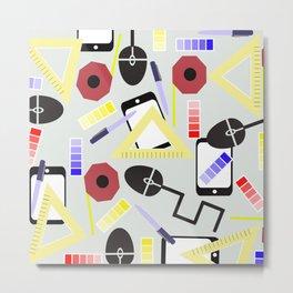 Tools of Design Metal Print