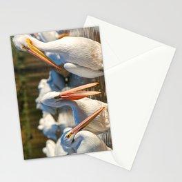 Three Birds Walk Into A Bar Stationery Cards