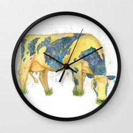 Milk Cow Wall Clock