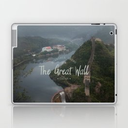 A different view of The Great Wall of China Laptop & iPad Skin