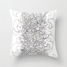 McLuhan Throw Pillow
