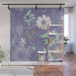 Late Summer Lavender Wall Mural