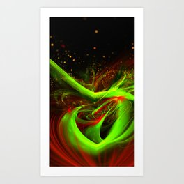 Abstract concoction Art Print