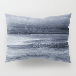Abstract black painting 2 Pillow Sham