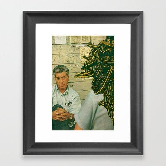 snakeeyes Framed Art Print