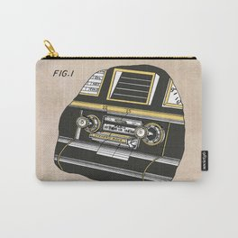 patent Selective stereo tape cartridge player Carry-All Pouch