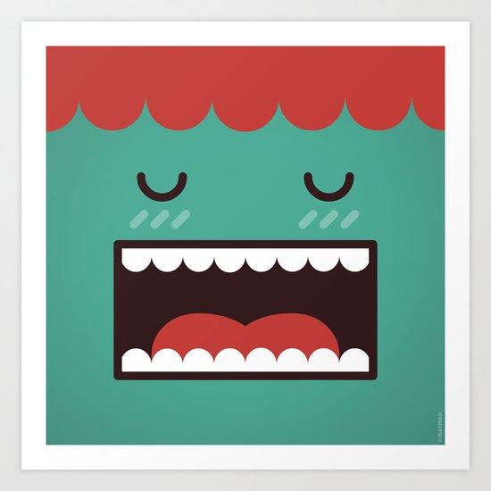 Mr Sleepwalker Art Print