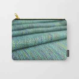 Advancing twill, hand dyed tencel Carry-All Pouch