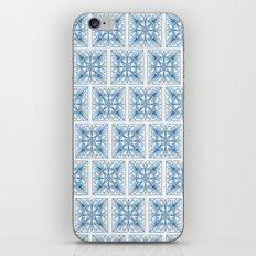 Blue Tile Patterns iPhone & iPod Skin