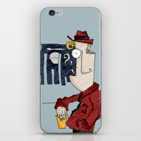 drink iPhone & iPod Skins featuring DRINK by Ivano Nazeri