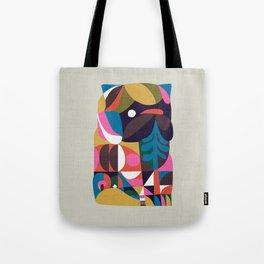 Nordic Pug Tote Bag