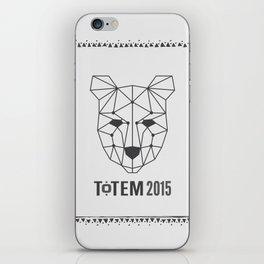Totem Festival 2015 - Black & White iPhone Skin