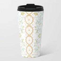 Boho floral Travel Mug