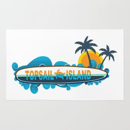 Topsail Island - North Carolina. Rug