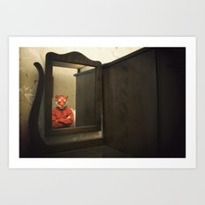 He Waits Silently  Art Print