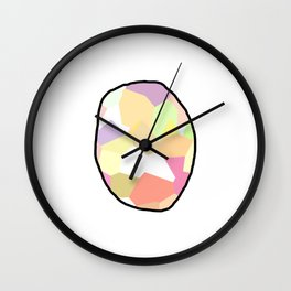 Candy Easter Egg Wall Clock