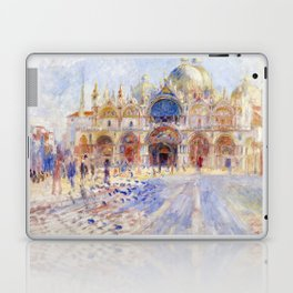 Renoir - The Piazza San Marco, Venice Laptop & iPad Skin