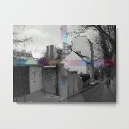 NEIGHBORHOOD MEDICINE Metal Print