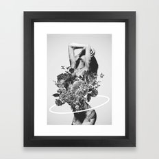 Be Slowly Framed Art Print