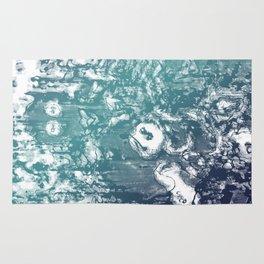 Inky Shadows - Blue edition Rug
