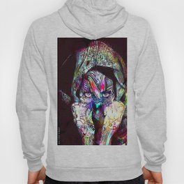 A tattoo, the brand can seem superficial, but it is indelible. Hoody