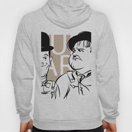 Face Laurel And Hardy Hoody