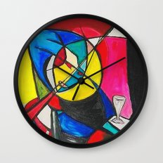 Within the Circle Wall Clock