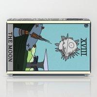 tarot iPad Cases featuring The Moon - Tarot Card by kamonkey