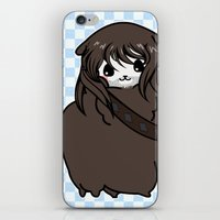 kili iPhone & iPod Skins featuring Dwarpacas(Kili) by Lady Cibia