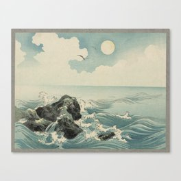 Kojima Zu - Waves Canvas Print