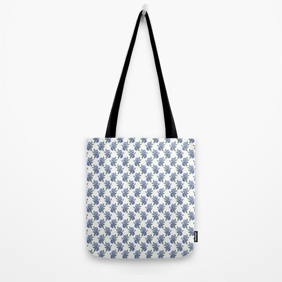 Another Violet Flowers Pattern Tote Bag