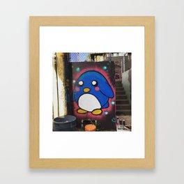 little fatty  Framed Art Print