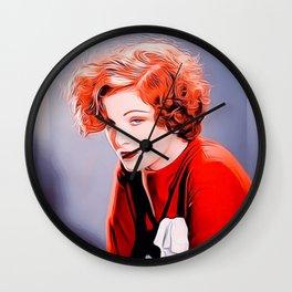 Myrna Loy Wall Clock