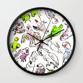 All the Birds! Wall Clock