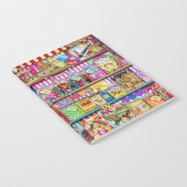 The Sweet Shoppe Notebook