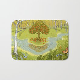 Magic Green Forest Bath Mat