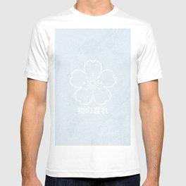 mono no aware – blue T-shirt