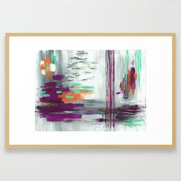 Iridescence Framed Art Print