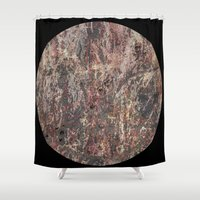 circle Shower Curtains featuring Circle by dominiquelandau