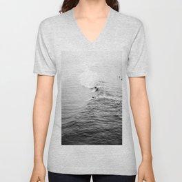 LETS SURF VIII / Manhattan Beach, California Unisex V-Neck