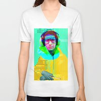 beastie boys V-neck T-shirts featuring Gioconda Music Project · Beastie Boys · Mike D. by Marko Köppe