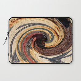 Swirl 07 - Colors of Rust / RostArt Laptop Sleeve