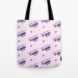 Lavender Fresh Pattern (powder pink) Tote Bag