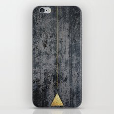 gOld triangle iPhone & iPod Skin
