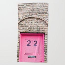Door Number 22 Beach Towel