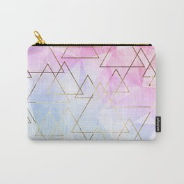 Collage geometric Carry-All Pouch