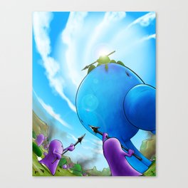Roombura Canvas Print
