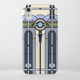 Art Deco Stained Glass iPhone Case