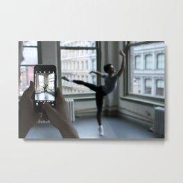 Male Dancer Metal Print