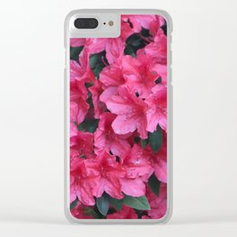 A Shade Of Pink Clear iPhone Case